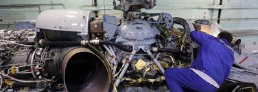 Услуги ремонта ВС и агрегатов